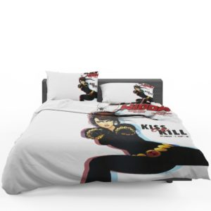 Black Widow Kiss Or Kill Marvel Comic Bedding Set 1