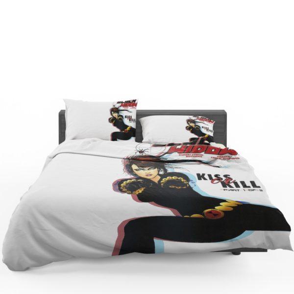 Black Widow Kiss Or Kill Marvel Comic Bedding Set 1