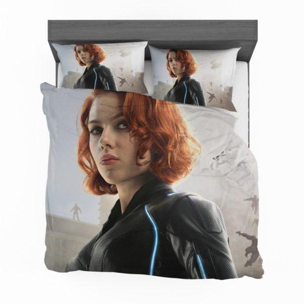 Black Widow in Avengers Infinity War Movie Bedding Set 2