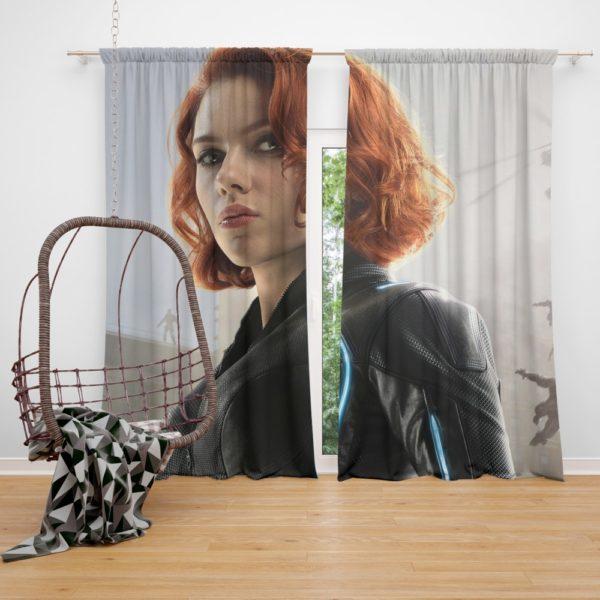 Black Widow in Avengers Infinity War Movie Curtain