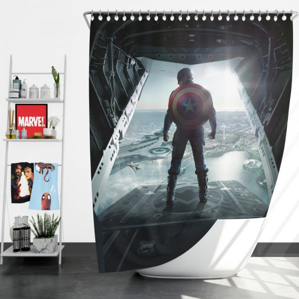 Captain America Avengers Infinity War Movie Shower Curtain