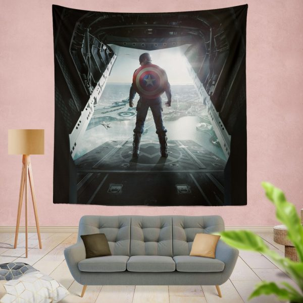 Captain America Avengers Infinity War Movie Wall Hanging Tapestry
