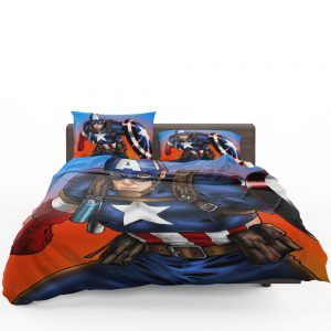 Captain America Avengers Unity Division Bedding Set 1