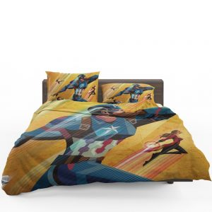 Captain America Civil War Marvel Movie Bedding Set 1