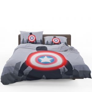 Captain America II Death Too Soon Bedding Set 1
