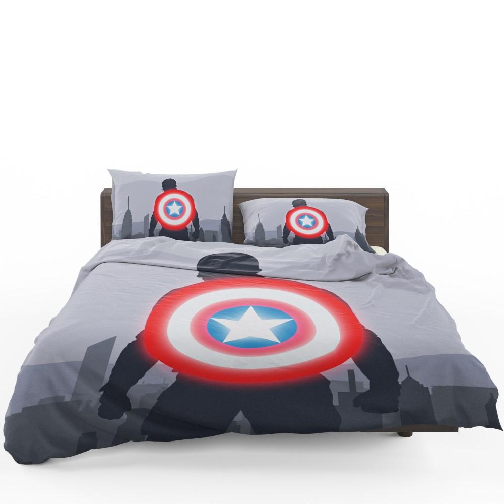 Captain America II Death Too Soon Bedding Set 1