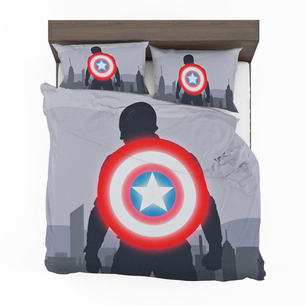 Captain America II Death Too Soon Bedding Set 2