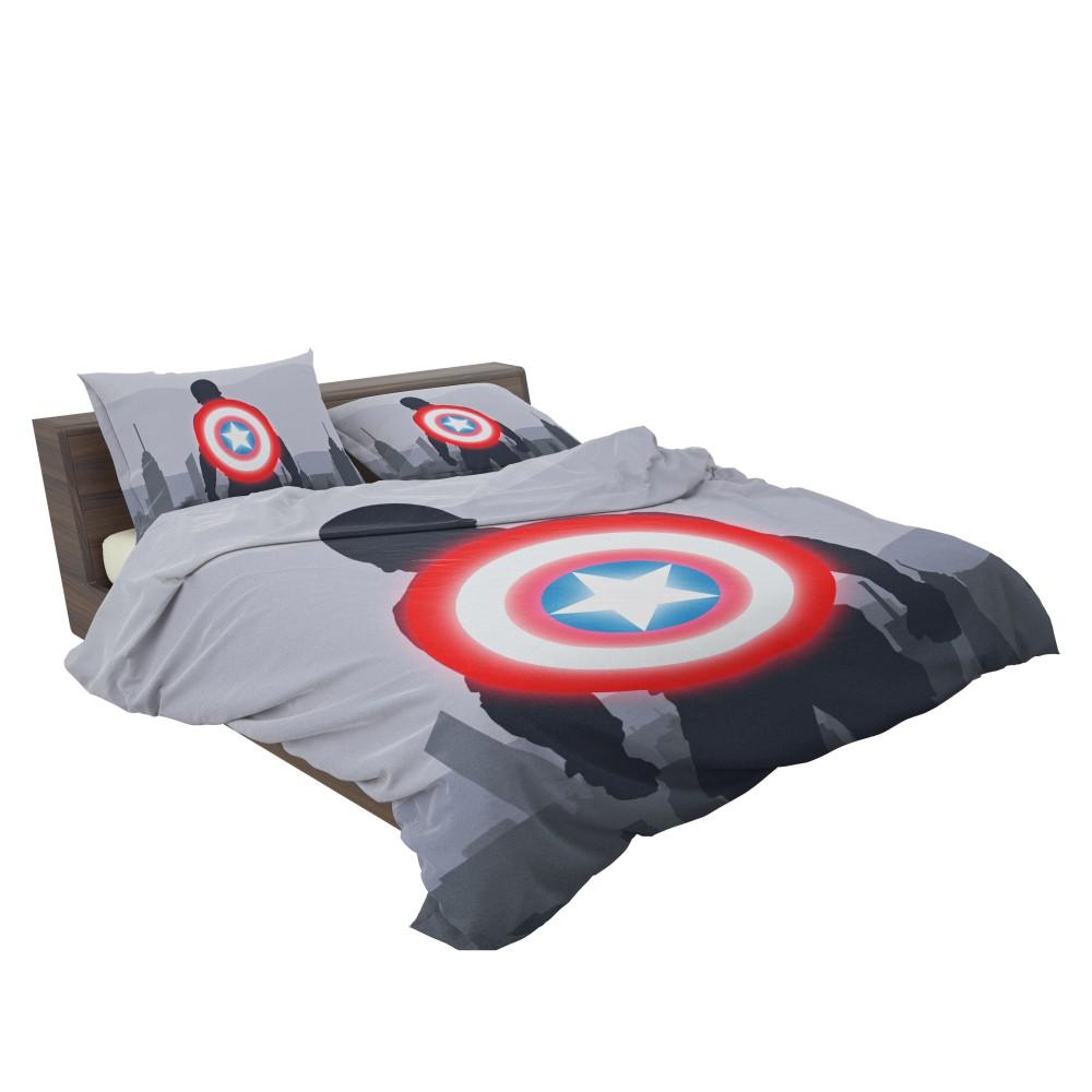 Captain America II Death Too Soon Bedding Set 3