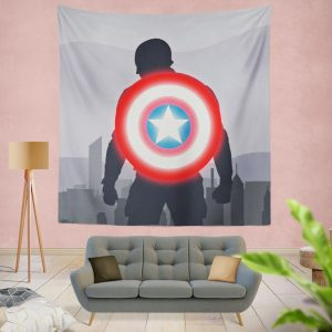 Captain America II Death Too Soon Wall Hanging Tapestry