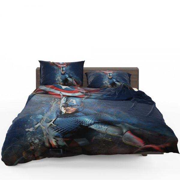 Captain America Marvel Comics Secret Defenders Bedding Set 1
