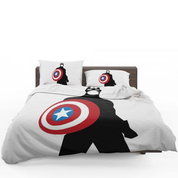 Captain America Marvel SHIELD Secret Avengers Bedding Set 1