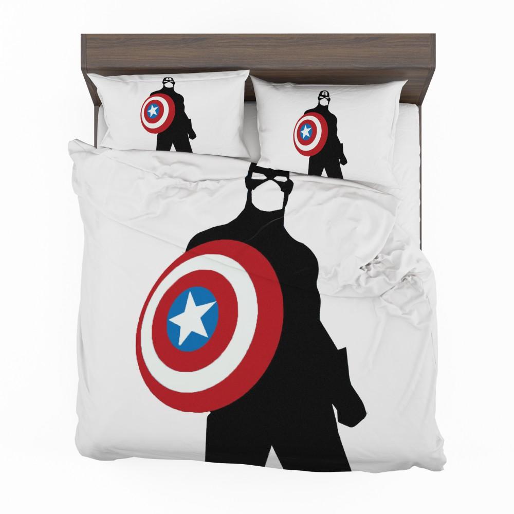 Captain America Marvel SHIELD Secret Avengers Bedding Set 2