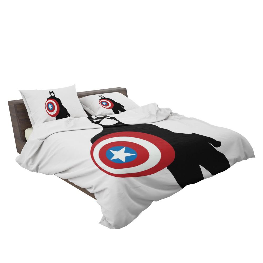 Captain America Marvel SHIELD Secret Avengers Bedding Set 3