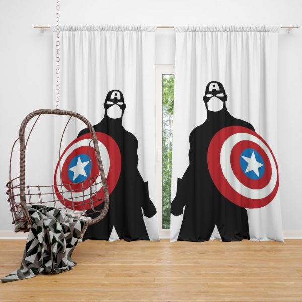 Captain America Marvel SHIELD Secret Avengers Curtain