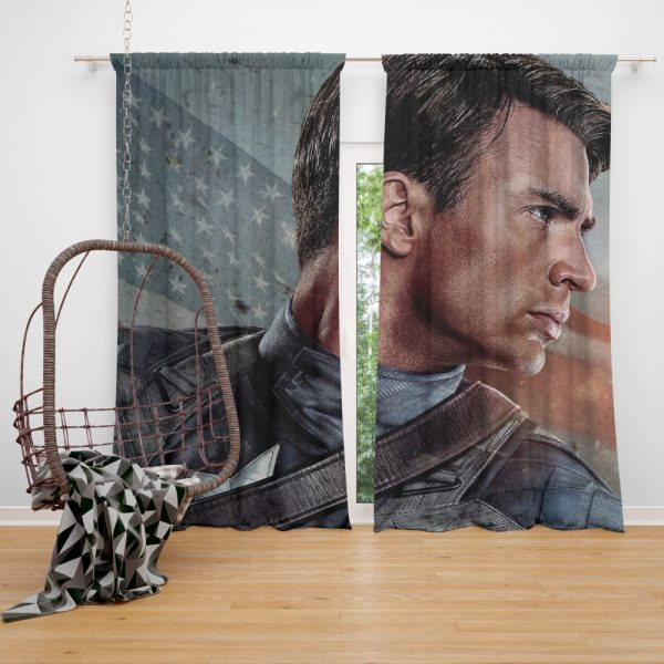 Captain America The First Avenger Captain America Chris Evans Curtain