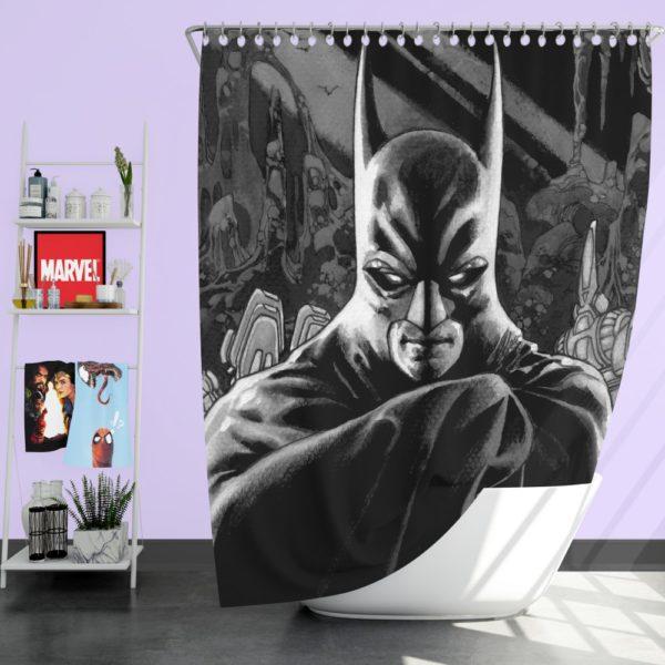 DC Batman Detective Comics Shower Curtain