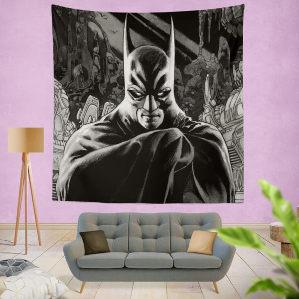 DC Batman Detective Comics Wall Hanging Tapestry