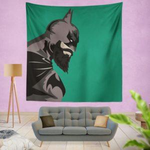 DC Comics Batman Beard Style Wall Hanging Tapestry