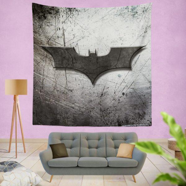 DC Comics Batman Logo  Wall Hanging Tapestry