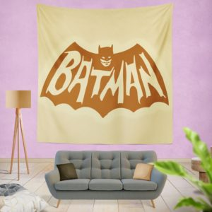 DC Comics Men's Batman Classic TV Show Logo Wall Hanging Tapestry