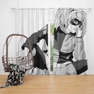 DC Comics Superheroine Harley Quinn Curtain