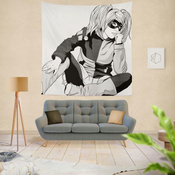 DC Comics Superheroine Harley Quinn Wall Hanging Tapestry