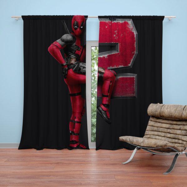 Deadpool 2 Movie Curtain