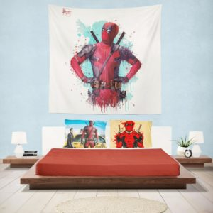 Deadpool Artwork Wall Hanging Tapestry