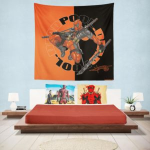 Deadpool Chimichangas Marvel Comics Wall Hanging Tapestry