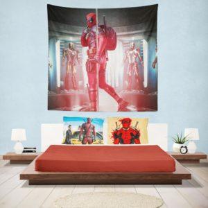 Deadpool Fan Art Wall Hanging Tapestry