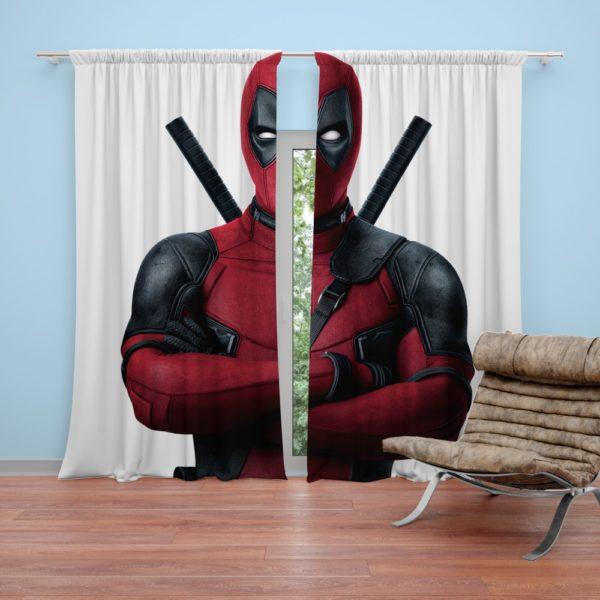 Deadpool Movie Curtain