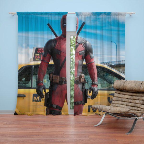 Deadpool Movie Negasonic Teenage Warhead Curtain
