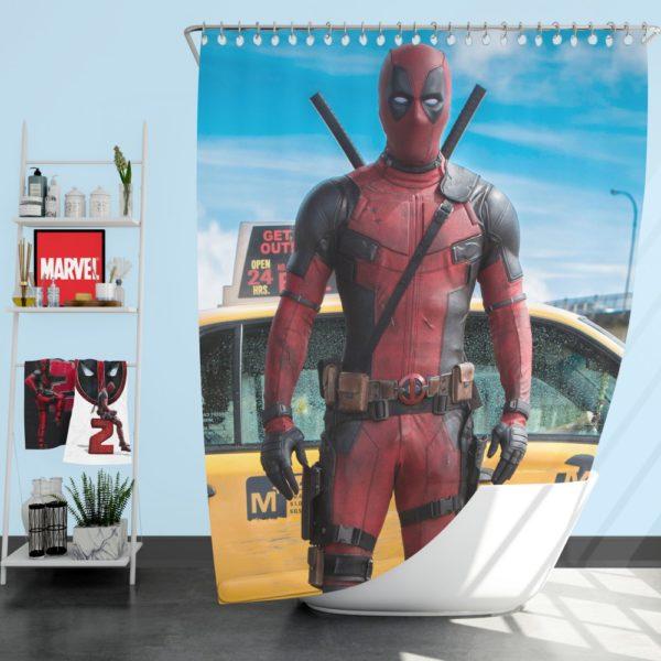 Deadpool Movie Negasonic Teenage Warhead Shower Curtain