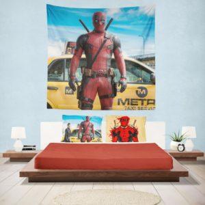 Deadpool Movie Negasonic Teenage Warhead Wall Hanging Tapestry