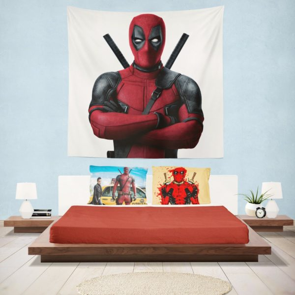 Deadpool Movie Wall Hanging Tapestry