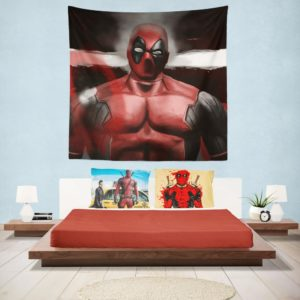 Deadpool The Circle Chase Comics Wall Hanging Tapestry