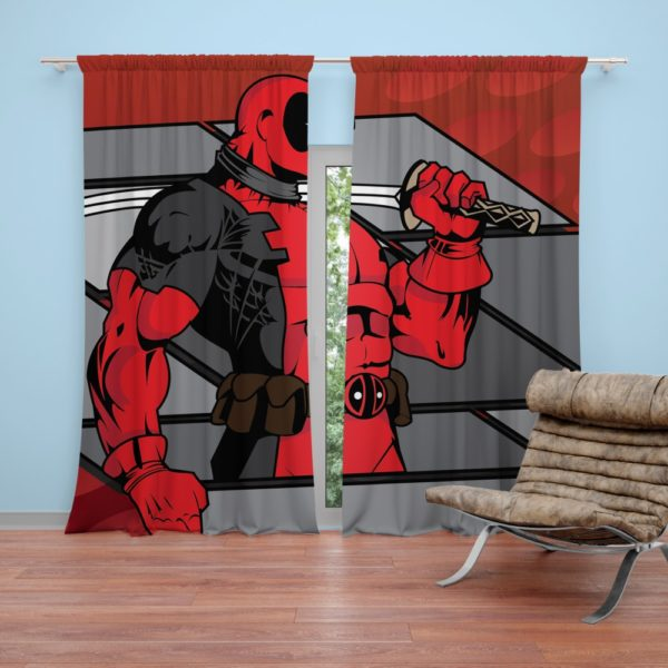 Deadpool The Gauntlet Infinite Comics Curtain