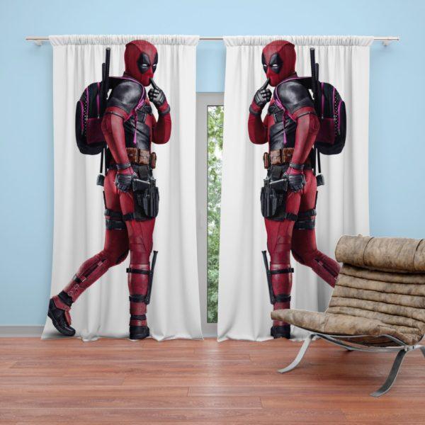 Deadpool Wade Wilson Curtain