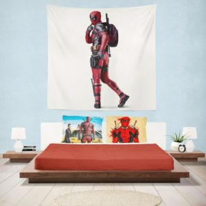 Deadpool Wade Wilson Wall Hanging Tapestry