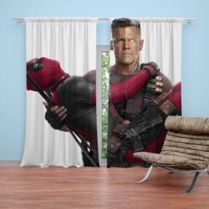 Deadpool and Cable Curtain
