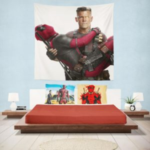 Deadpool and Cable Wall Hanging Tapestry