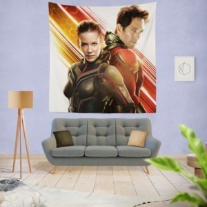 Evangeline Lilly and Paul Rudd Ant-Man Movie Wall Hanging Tapestry