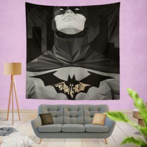 Geometric Batman Movie Comics Wall Hanging Tapestry