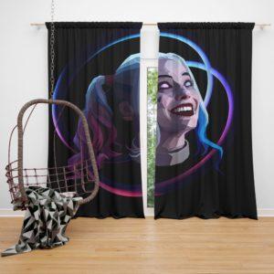 Harley Quinn Harleen Frances Quinzel DC Curtain
