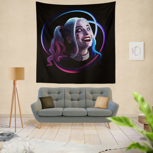 Harley Quinn Harleen Frances Quinzel DC Wall Hanging Tapestry