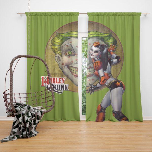 Harley Quinn and Joker's Daughter In Batman Beyond Curtain