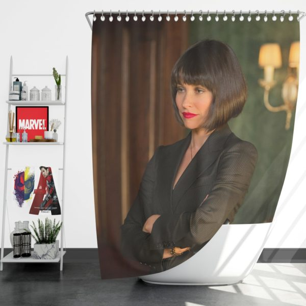 Hope Pym Ant-Man Movie Evangeline Lilly Shower Curtain
