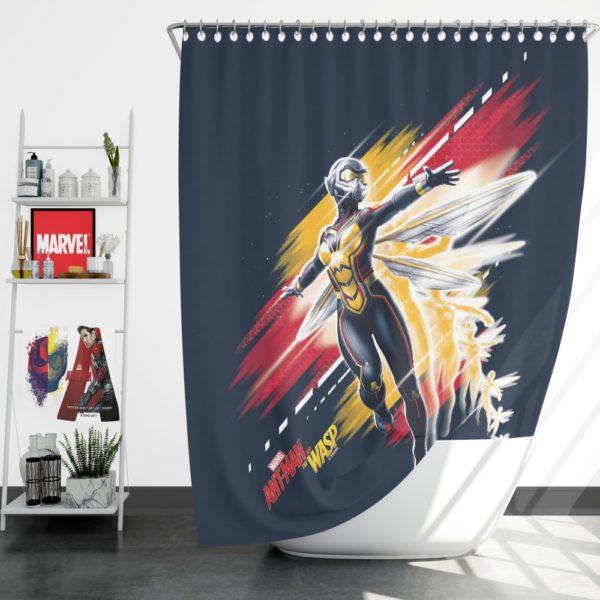 Hope Pym Marvel Comics Fictional character Shower Curtain