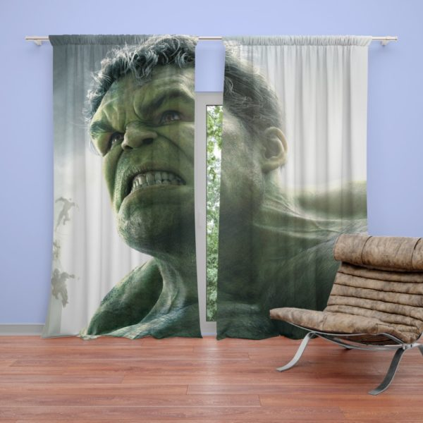 Hulk in Marvel Avengers Age of Ultron Movie Curtain