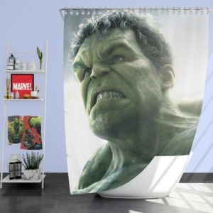 Hulk in Marvel Avengers Age of Ultron Movie Shower Curtain